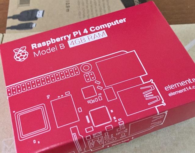 Raspberry Pi 4 Model BにUbuntu Server 20.04をインストール