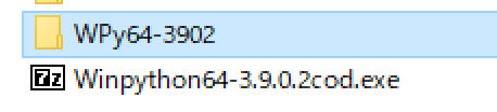 WinPython 7zipダウンロード